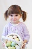 Menina de Easter Foto de Stock