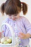 Menina de Easter Foto de Stock Royalty Free