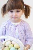 Menina de Easter Fotografia de Stock Royalty Free