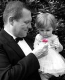 Menina de flor Fotos de Stock Royalty Free