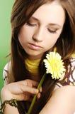 Menina de flor Foto de Stock