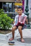 Menina de Gipsy do músico Imagem de Stock Royalty Free