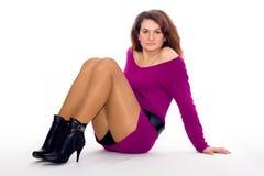 Menina de Glamor Imagem de Stock
