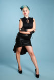 Menina de Goth Foto de Stock Royalty Free