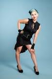 Menina de Goth Fotos de Stock