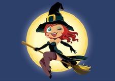 Menina de Halloween Foto de Stock