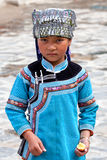 Menina de Hani, China Fotos de Stock Royalty Free