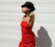 A menina de Havana Fotos de Stock Royalty Free