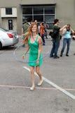 Menina de Hula Foto de Stock Royalty Free