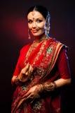 Menina de India Imagens de Stock Royalty Free