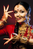 Menina de India Imagem de Stock Royalty Free