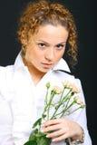 Menina de Intresting Imagem de Stock Royalty Free