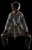 Menina de Judoka Foto de Stock Royalty Free