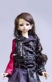Menina de junta articulada da boneca imagem de stock royalty free