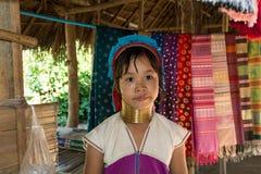 Menina de Kayan Fotos de Stock Royalty Free