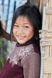 Menina de Khmu. Fotografia de Stock