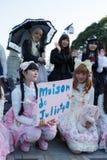 Menina de Manga fotografia de stock