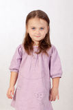 Menina de olhos azuis pequena Imagem de Stock