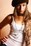 Menina de partido do encanto Foto de Stock Royalty Free