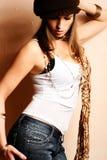 Menina de partido do encanto Imagem de Stock Royalty Free