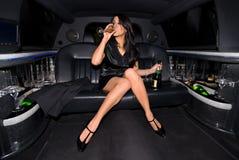 Menina de partido 'sexy'. Fotos de Stock Royalty Free