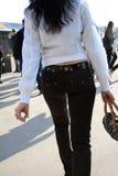 Menina de passeio Foto de Stock Royalty Free