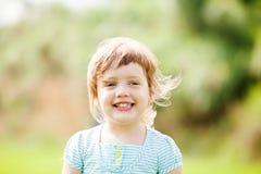 Menina de riso Foto de Stock