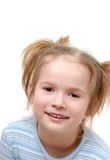 Menina de riso Foto de Stock Royalty Free