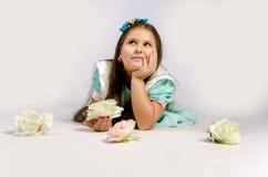 Menina de sonho Imagens de Stock Royalty Free