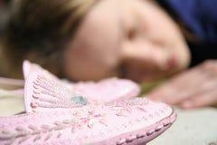 Menina de sono Fotos de Stock