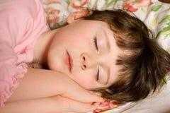 Menina de sono Imagens de Stock Royalty Free
