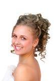 Menina de sorriso 2 Imagens de Stock Royalty Free