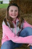 Menina de sorriso Imagem de Stock