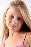 Menina de sorriso Foto de Stock