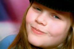Menina de sorriso Foto de Stock Royalty Free