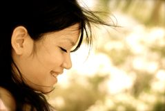 Menina de sorriso:) Imagem de Stock