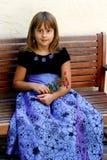 Menina de sorriso agradável imagem de stock royalty free