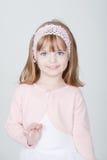 Menina de sorriso bonita nova Foto de Stock Royalty Free