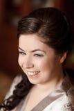 Menina de sorriso da composição Imagem de Stock Royalty Free