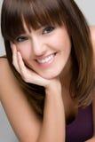 Menina de sorriso feliz Fotografia de Stock Royalty Free