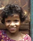 Menina de sorriso indiana Imagem de Stock