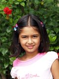 Menina de sorriso nova Foto de Stock Royalty Free