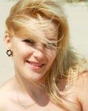 menina de sorriso nova da beleza Imagens de Stock Royalty Free