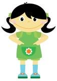 Menina de Thel ilustração stock