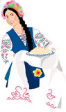 Menina de Ucrânia Foto de Stock Royalty Free