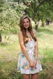 Menina de Ukrain do retrato Imagem de Stock