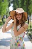 Menina de Ukrain do retrato Foto de Stock