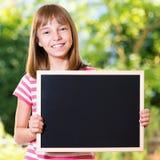 Menina de volta à escola Fotografia de Stock Royalty Free