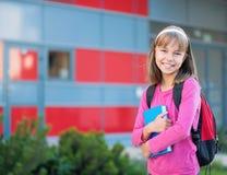 Menina de volta à escola Fotografia de Stock