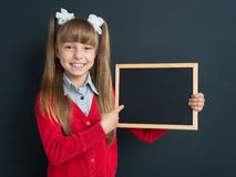 Menina de volta à escola Imagem de Stock Royalty Free